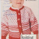 Simplicity 1986 Pattern Booklet #0449 Infant Wardrobe to Knit & Crochet