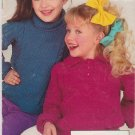 Simplicity 1987 Pattern Bk Knitting With Style #0468 Children's Fashions To Knit