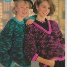 Sirdar Sweater Knitting Pattern #c4561