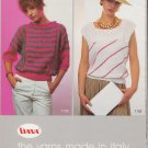 Viana Canada Knitting Pattern Leaflet patterns for 7 Sweater Designs