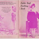 Virginia Lakin Petite Doll Knitting Book One 1962 Pattern Book for 11 to 11-1/2""