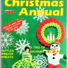 Women's Circle Crochet 1984 Christmas Annual