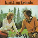 Woolcrest Knitting Trends Issue No. 2 Vintage 1975 Knitting and Crochet Pattern