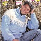 Zeller's Knitting Pattern Leaflet #Z107 for Chunky Weight Yarns