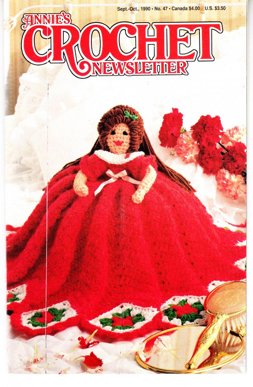Annie's Attic Crochet Publication Annie's Crochet Newsletter No.47 Sept/Oct 1990