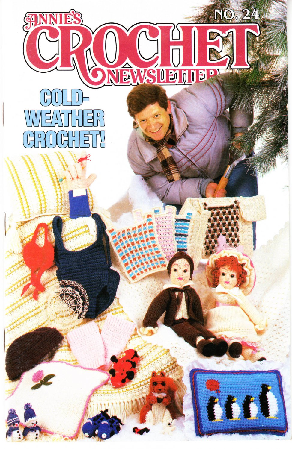 Annie's Attic Crochet Publication Annie's Crochet Newsletter No.24 Nov-Dec 1986