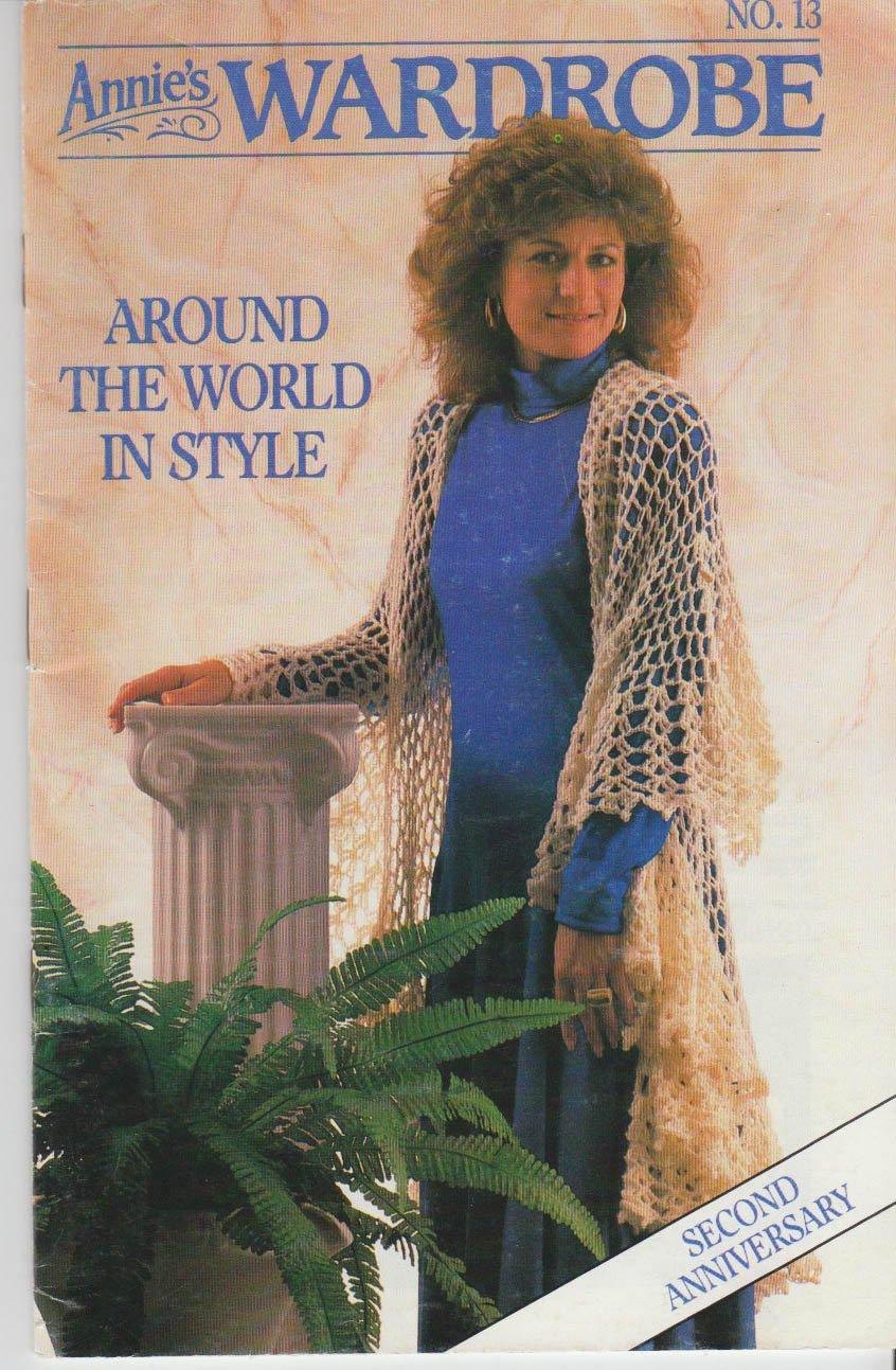 Annie's Wardrobe No.13 Around The World In Style 1987 Pattern Booklet