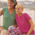 Bernat 1985 Handicrafter No.570 Knitting Pattern Booklet Fettuccia
