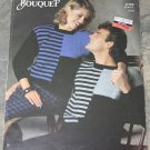 Bouquet Knitting Pattern No.746 His And Hers Stripes And Blocks