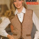 Bucilla Vintage 1979 Knitting & Crochet Pattern Booklet Vol.52 Vests