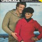 Bucilla 1982 Knitting Pattern Booklet Volume 61 Grenoble