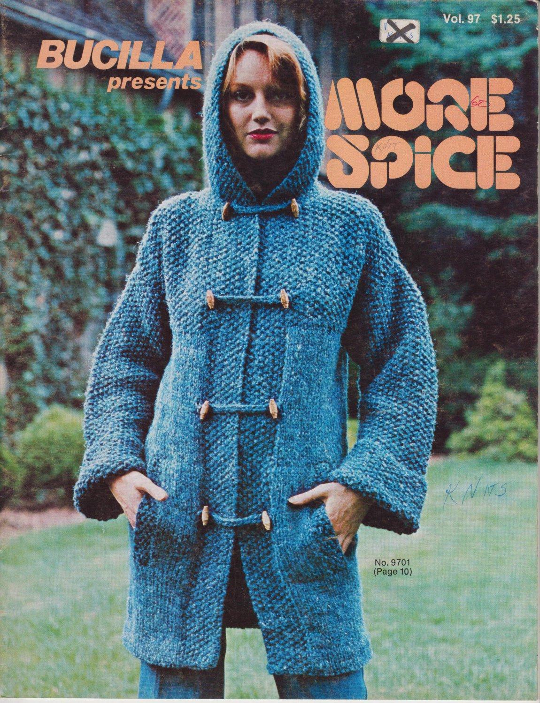 Bucilla presents More Spice Vintage 1976 Knitting Pattern Vol.97