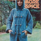 Bucilla presents More Spice Vintage 1976 Knitting Pattern Vol.97