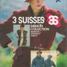 Bucilla 3 Suisses Fashion Collection Knit & Crochet Pattern Booklet Volume 7300