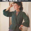 Bucilla Vintage 1983 Knitting Pattern Booklet Fall Revue Vol.72