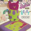 Bouquet Crochet Pattern #1258 Kids Decor Patterns to Crochet Pillows Afghans and PJ Bag