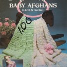 American School of Needlework 1987 Weekend Baby Afghans to knit & crochet #1051