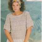 Coats Ancora Bahar Knitting Pattern #955