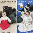 Coats & Clark 1978 Knitting & Crochet Pattern Book No.272 Small Pleasures
