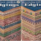 Coats & Clark's Vintage 1959 Book No.105 Edgings