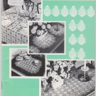 Coats Book No.96 Pineapples on Parade crochet patterns doilies, table cloths,etc