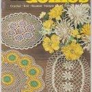Coats & Clark's Vintage Crochet Doilies Pattern Book No. 174 Priscilla Doilies