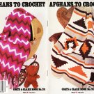 Coats & Clarks 1981 Crochet Pattern Booklet No.291 Afghans To Crochet