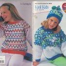 Coats & Clark 2000 Knitting & Crochet Pattern Book Art.J16 Book 0107 Kool Kids