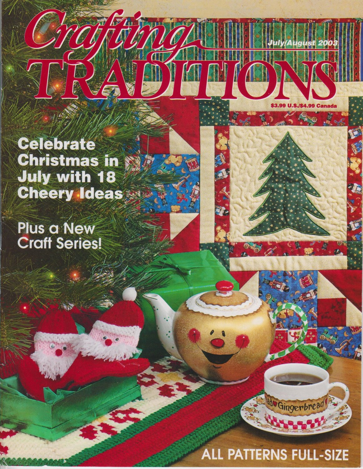 Crafting Traditions Magazine Issue July/August 2003