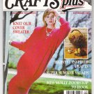Crafts Plus The Home Arts Digest September 1987 Magazine