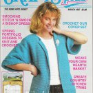 Crafts Plus The Home Arts Digest March 1987 Magazine