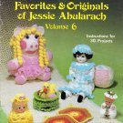 Crocheted Favorites & Originals of Jessie Abularach 1982 Pattern Book Volume 6