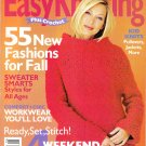 Family Circle Easy Knitting Plus Crochet Magazine Fall 2001