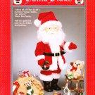 Fibre-Craft #FCM302 Santa Claus 1992 Sewing Pattern