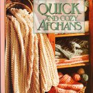 Leisure Arts 1994 Hardcover Crochet Pattern Book Quick and Cozy Afghans
