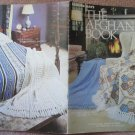Leisure Arts 1975 Knit and Crochet Leaflet #63 The Afghan Book
