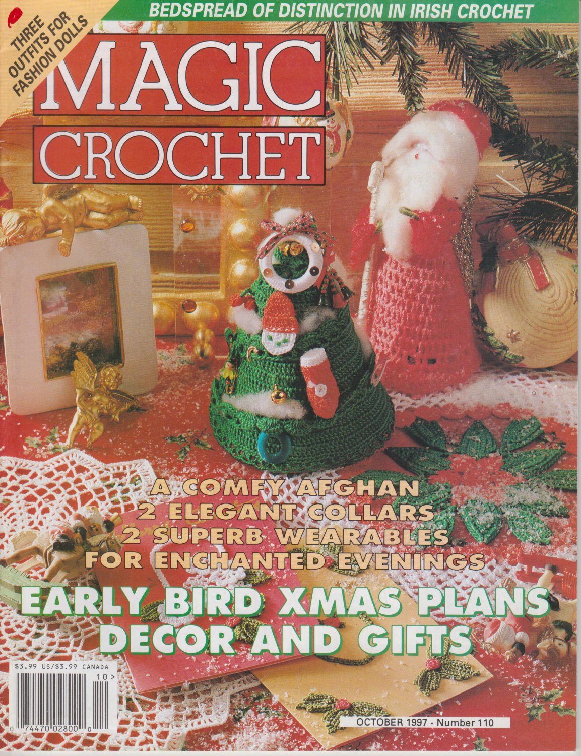 Magic Crochet Magazine Issue October 1997 Number 110