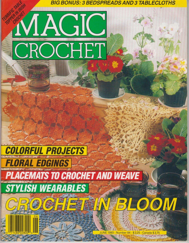 Magic Crochet Magazine Issue June 1993 Number 84