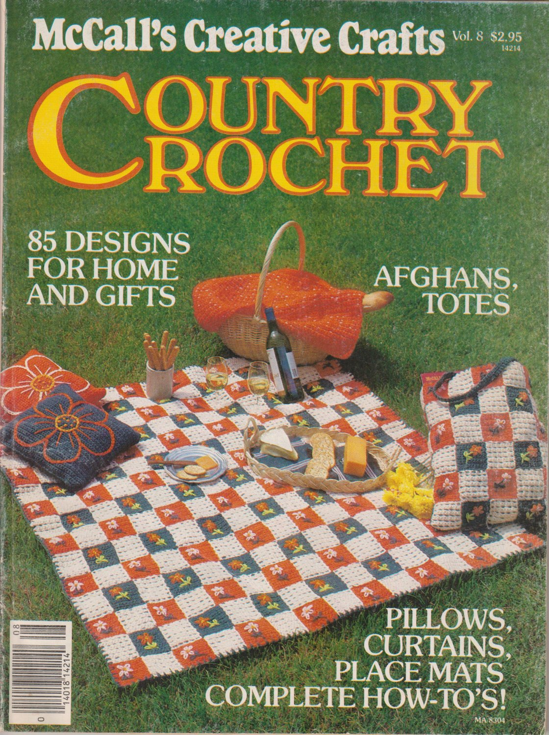 McCall's Creative Crafts Country Crochet 1983 Magazine Vol.8