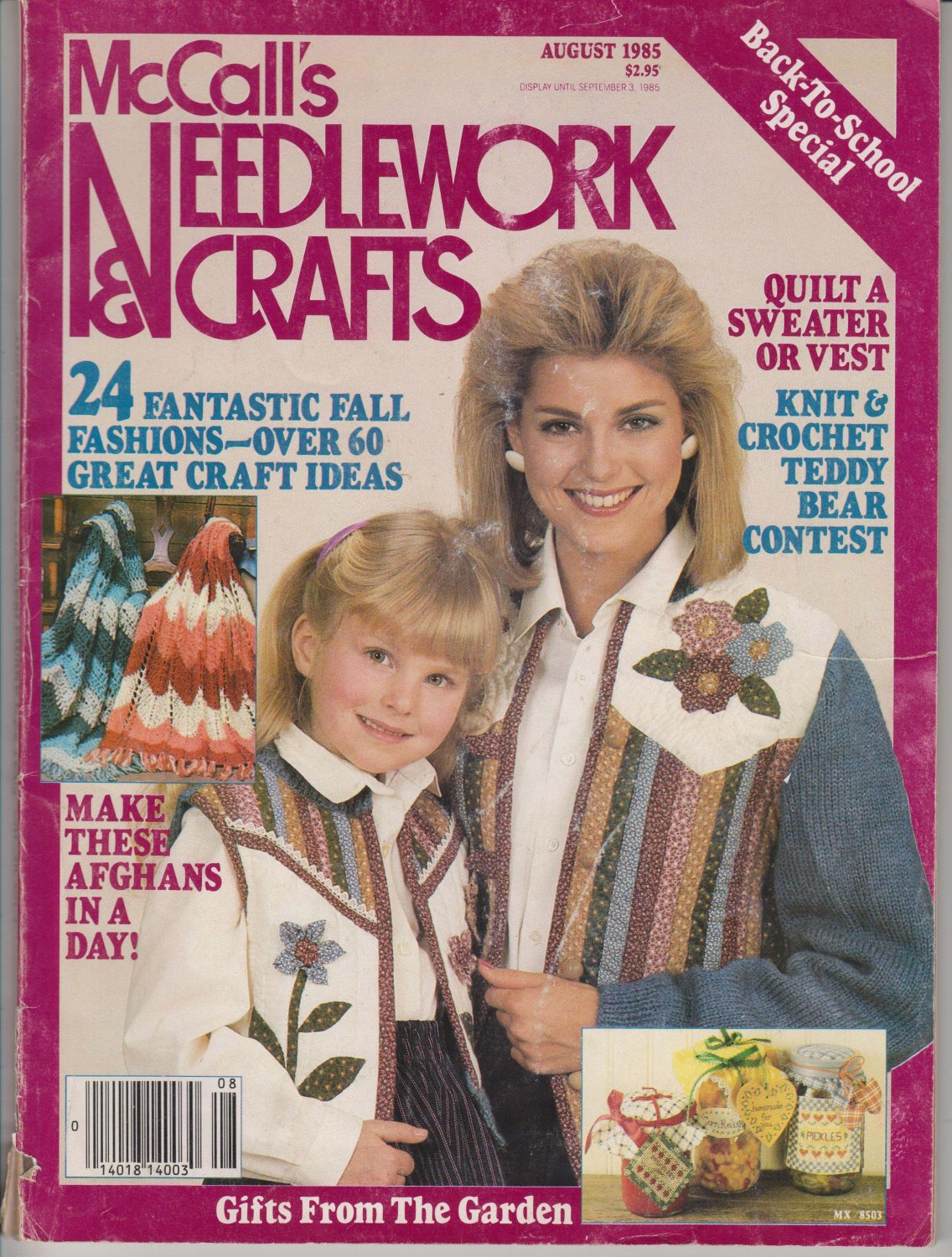 McCall's Needlework & Crafts August 1985