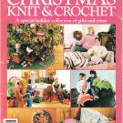 McCall's 1987 Design Ideas Vol.28 Magazine Christmas Knit & Crochet