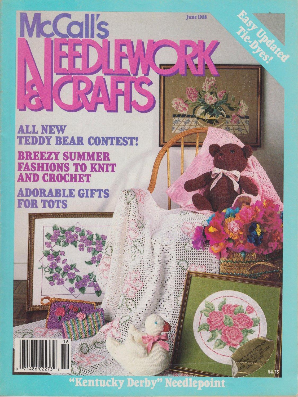 McCall's Needlework & Crafts June 1988