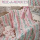 Leisure Arts 1998  Crochet Pattern Leaflet #3080 Sweet Little Mile-A-Minutes