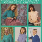 Bernat Complete Knitting 1988 Handicrafter Book No. 653