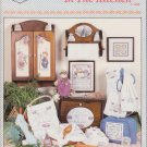 Cross My Heart 1988 Cross Stitch Pattern Booklet #CSB-37 Some Bunnies In The Kitchen