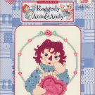 I Love You Raggedy Ann & Andy Series Cross Stitch Pattern Designs By Gloria & Pat #RA-102
