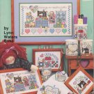 Graph-it Arts I Love Needlework #59 Lynn Waters Busa Design 1994 Cross Stitch Pattern Leaflet