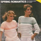 Bucilla 1983 Knitting and Crochet Pattern Booklet Spring Romantics Volume 69