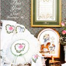 Stoney Creek 1989 Cross Stitch Pattern Book #67 When This You See Remember Me