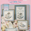 Stoney Creek 1997 Cross Stitch Pattern Leaflet Guardian Angel Birth Sampler Book 179